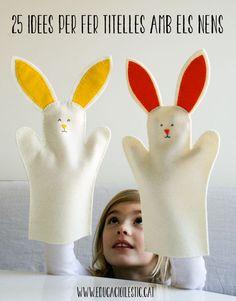 25 idees per fer titelles amb els nens