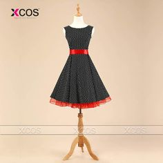 Cheap gowns pink, Buy Quality swing dress black directly from China dress for Suppliers: Audrey Hepburn Gowns Vintage Dresses Robe Rockabilly Pin up Swing Dress for Party Red Black Pink Polka Dot Purple Bridesmaid Dresses, Prom Dresses 2016, Prom Dresses Long With Sleeves, Ball Gown Dresses, Dresses For Teens, Satin Dresses, Cheap Dresses, Vestidos Vintage, Vintage Dresses