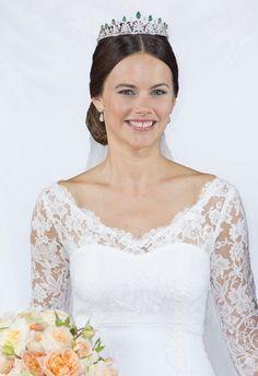 Bildresultat för prinsessan sofia brudklänning
