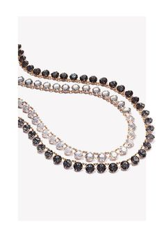 Bejeweled Beauties: CA&LOU's 'Debutante' Crystal Necklaces add a decadent Swarovski crystal shimmer to any ensemble.