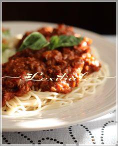 les milles & un délices de ~lexibule~: Sauce à spaghetti au four de Jean-François Plante
