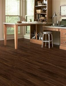 home legend wire brushed forest trail hickory 3/8 in. t x 5 in. w