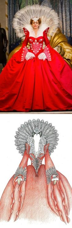 Julia Roberts in  Mirror Mirror - Snow White - Costumdesign by Eiko Ishioka