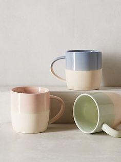 Color Block Mug