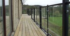 Steel & Glass Balconies Railings Balustrades *Cheaper Option to Stainless Steel