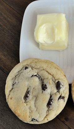 Softened butter chocolate chip cookie recipe