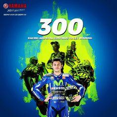 いいね!7,468件、コメント19件 ― Valentino Rossi ⏺️さん(@valeyellow46br)のInstagramアカウント: 「#ValentinoRossi  300 #GPs e contando.... #Legend」
