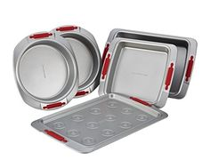 Cake Boss Deluxe Nonstick Bakeware 5-Piece Bakeware Set >>> See this awesome image @ - bakeware