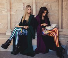 Wizard Chic.slytherin and Griffyndor leggings. OMG need dis. Harry Potter collection by Black Milk Clothing.