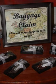 travel themed bridal shower | We are going on a cruise for our honeymoon in the Mediterranean, so we ...