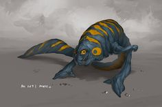 Monster No. 061 by Onehundred-Monsters.deviantart.com on @deviantART