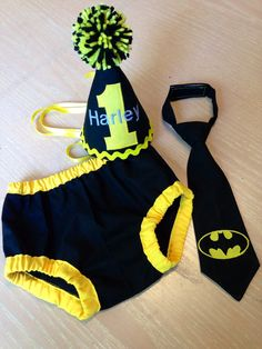 468b34f9e Items similar to batman cake smash outfit, photo prop, first birthday outfit,  superhero colors superhero birthday outfit and cake smash outfit on Etsy