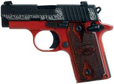 SIG Sauer P238 380 LADY IN RED   Flickr - Photo Sharing!