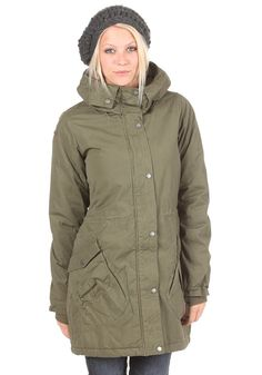 Bubble Jacket olive night