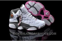 http://www.bigkidsjordanshoes.com/low-cost-disocunt-air-jordan-13-xiii-retro-womens-shoes-online-white-grey-2016-new.html LOW COST DISOCUNT AIR JORDAN 13 XIII RETRO WOMENS SHOES ONLINE WHITE GREY 2016 NEW Only $99.00 , Free Shipping!
