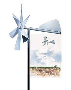 Mole Chaser | Mole Windmill | Gardener's Supply