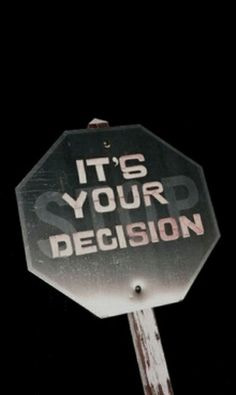 It's your decision. Continue reading…