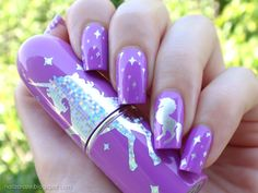 Image result for unicorn nail plate