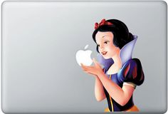 I love my MacBook Pro and I especially love the Snow White decal I found on Etsy.  Makes me smile.