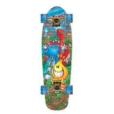 World Industries Flameboy/ Wetwilly Cruiser Skateboard World Industries Skateboards, Scooter Store, Wood Chipper, Cruiser Skateboards, Skate Art, Sports Toys, Industrial, Design, Product Description