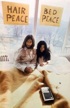 Yoko Ono and John Lennon - Married in 1969, the prolific artist and musician were the poster children for peace, love, and bohemia. When they first met in 1966, at one of Ono's gallery shows, she alleged that she had no idea who the Beatles were.