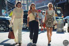 Zina Charkoplia Nina Suess Caroline Daur by STYLEDUMONDE Street Style Fashion Photography