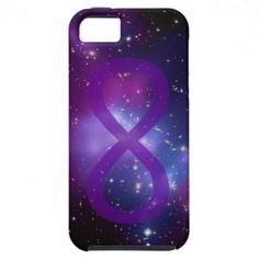 Purple Galaxy Infinity Symbol Case-Mate Vibe iPhone 5 Case