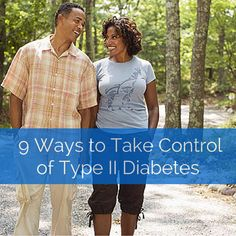 Take control of your type II diabetes today.