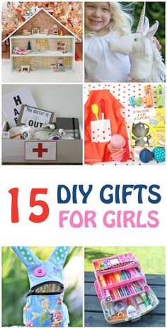 15 DIY GIFTS FOR GIRLS . These are perfect for birthdays or Christmas | at Non…