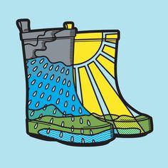 Rainy Day Boots - ART