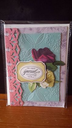 Luxury Hand Crafted Anna Griffin Special Occasion Cards