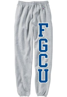 Florida Gulf Coast University, Junior Year, Sweatpants, Fitness, Fashion, Moda, Fashion Styles, Fashion Illustrations