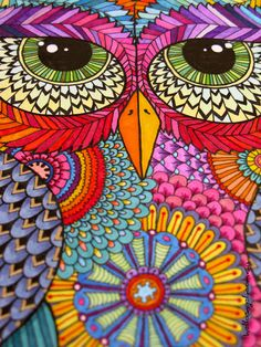 Zentangle Owl by Hello Angel Creative  Good Day