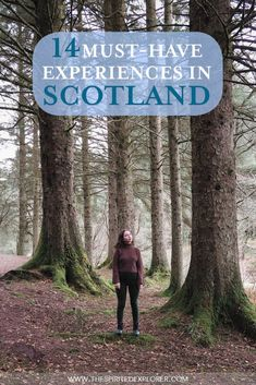 Traveling and searching for the best place to visit in Scotland? How exciting! Here are the 14 must-have experiences in Scotland. Enjoy these amazing things to do in the highlands, cities, and beyond. Scotland Hiking, Scotland Travel Guide, Scotland Vacation, Scotland Road Trip, Honeymoon In Scotland, Visiting Scotland, Cool Places To Visit, Places To Travel, Travel Destinations