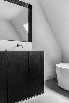 Want to redesign your bathroom, but short on time and money? Try these quick updates to completely transform your bathroom Black Bathroom Taps, Modern Bathroom Mirrors, Minimal Bathroom, Attic Bathroom, Bathroom Toilets, Simple Bathroom, Beautiful Bathrooms, Bathroom Interior, Modern Bathrooms