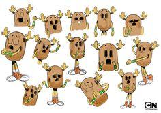 The Amazing World of Gumball Cartoon Network - Virginie Kypriotis - Character design, freelance designer Cartoon Network, Character Sheet, Character Concept, Expression Sheet, World Of Gumball, Character Design Animation, Illustration, Visual Development, Fanart