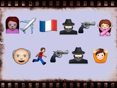 So many stories to tell. So many emojis to tell them with. Guess The Movie, Movie Plot, Telling Stories, Fun Facts, Family Guy, Lol, Movie Posters, Fictional Characters, Film Poster