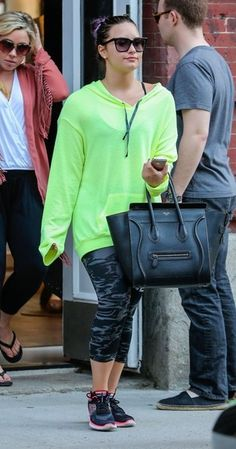 Demi Lovato Out Shopping In New York City