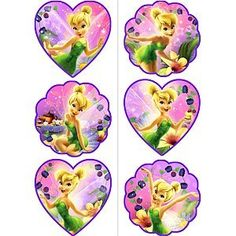 Tink Sweet Treats Tattoos. Tinker Bell Sweet Treats Tattoo. Tinker Bell Birthday Party Supplies. Kids' Party Supplies.