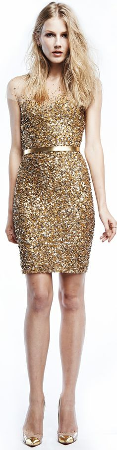 those gold sequins