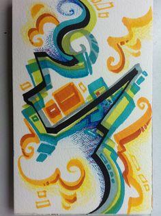Eidolons by Quyen Truong, via Behance