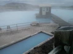 Die Myvatn nature baths im Norden Islands