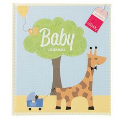 This lovely Baby Journal is the ideal way to preserve all of baby's precious moments from their first year and beyond. #gift