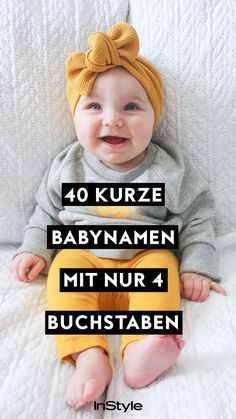 InStyle - The latest trends in fashion, beauty and lifestyle 40 short baby names . - InStyle – The latest trends in fashion, beauty and lifestyle 40 short baby names with only 4 lett - Gender Neutral Names, Gender Neutral Baby Clothes, Disney Babys, Baby Disney, Disney Baby Clothes, Baby Clothes Shops, Unisex Baby Names, Names Baby, Maila