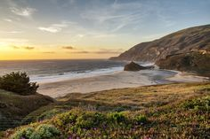 Sunset Bay | Big Sur, California, USA by Matthias Huber on 500px