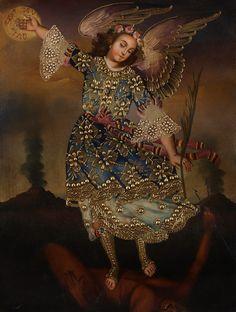 Cuzco Art - Archangel St Michael