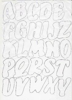 Large Font Letters Of Alphabet  Free Printable Letter Stencils