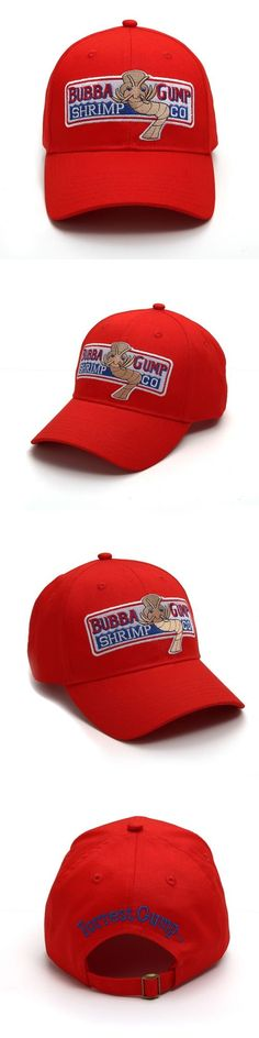533939eb Hats 163543: Us Ship 1994 Bubba Gump Shrimp Co Hat Forrest Gump Costume  Embroidered Cap