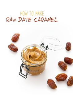 AMAZING & simple RAW VEGAN DATE CARAMEL sugar free no bake vegan glutenfree | caramello senza zucchero senza cottura raw vegan senza glurine con datteri