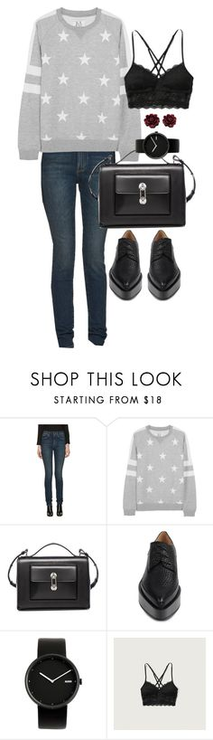 """""""Untitled #6569"""" by ashley-r0se-xo ❤ liked on Polyvore featuring Yves Saint Laurent, Zoe Karssen, Balenciaga, Jil Sander, Alessi and Abercrombie & Fitch"""